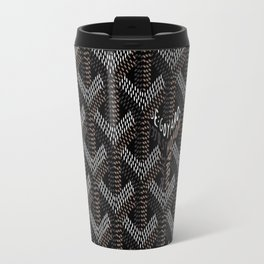 Goyard Black Travel Mug