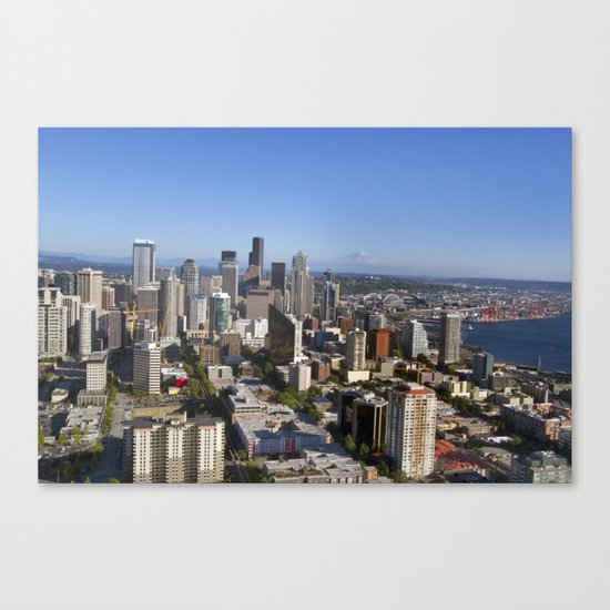 From the Needle Canvas Print