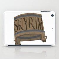 skyrim iPad Cases featuring SKYRIM: BUCKET by MDRMDRMDR