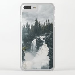Athabasca Falls Alberta Clear iPhone Case