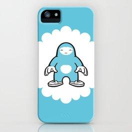 blue gigant iPhone Case