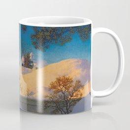 Winter Sunshine (Sunlight) by Maxfield Parrish Coffee Mug
