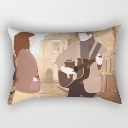 GUY AND GIRL – ONCE THE MUSICAL Rectangular Pillow