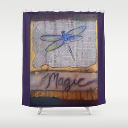 Art is Magic Shower Curtain
