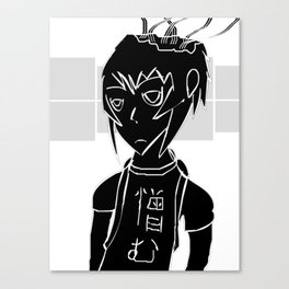 Hateful thoughts Canvas Print