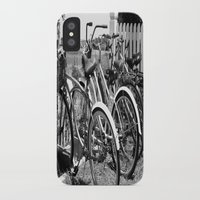 bikes iPhone & iPod Cases featuring Bikes  by McKenzie LeFlore