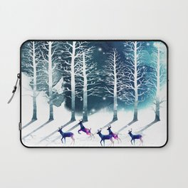 Winter Night 2 Laptop Sleeve