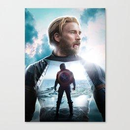 CaptainAmerica (A Hero's End) Canvas Print
