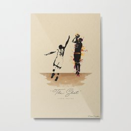 """The Shot"" Kyrie Metal Print"