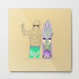 Sandman Metal Print