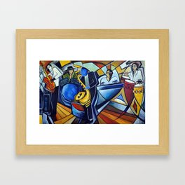 The Jam Session Framed Art Print