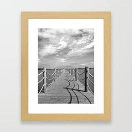 Cast your shadow Framed Art Print