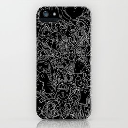 Bicycle Party Peeps iPhone Case