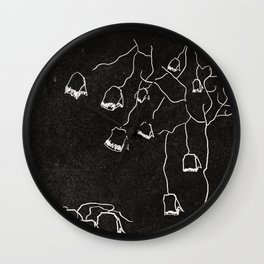 Tea Tree Wall Clock