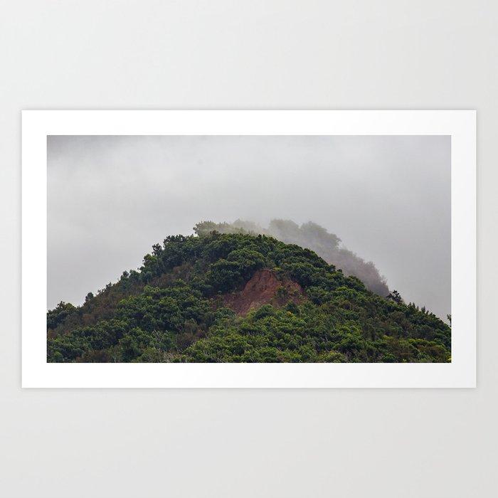 Maui Mountain Tops Art Print