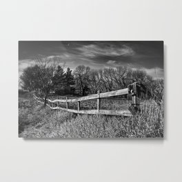 The Country Field Metal Print