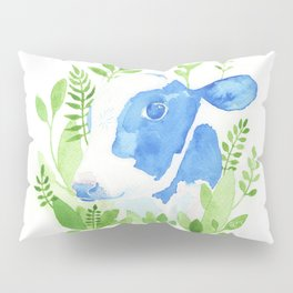 Chester the Rescued Cow Pillow Sham