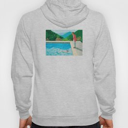 stand and swim people Hoody