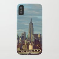 skyline iPhone & iPod Cases featuring Skyline by Alex Marcano