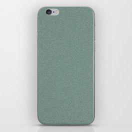 Dense Melange - White and Deep Green iPhone Skin