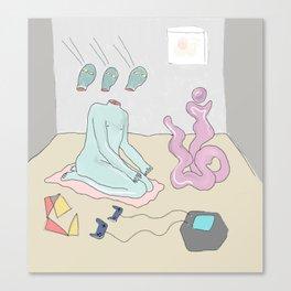 Escapist Canvas Print