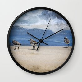 The Piper 3 Wall Clock