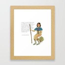 Sacajawea Framed Art Print