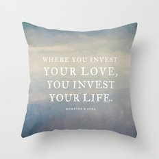 Personal Request Throw Pillow
