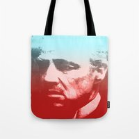 godfather Tote Bags featuring GODFATHER - Do I have your Loyalty? by Bright Enough💡