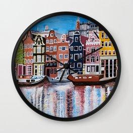 Beautiful Amsterdam Wall Clock