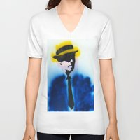 suits V-neck T-shirts featuring SUITS by Clay Bakkum