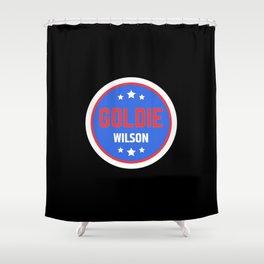 Goldie Wilson Shower Curtain