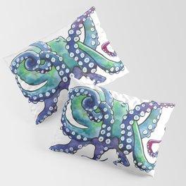 Rainbow Octopus Pillow Sham