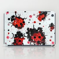 bugs iPad Cases featuring Splattered bugs by Condor