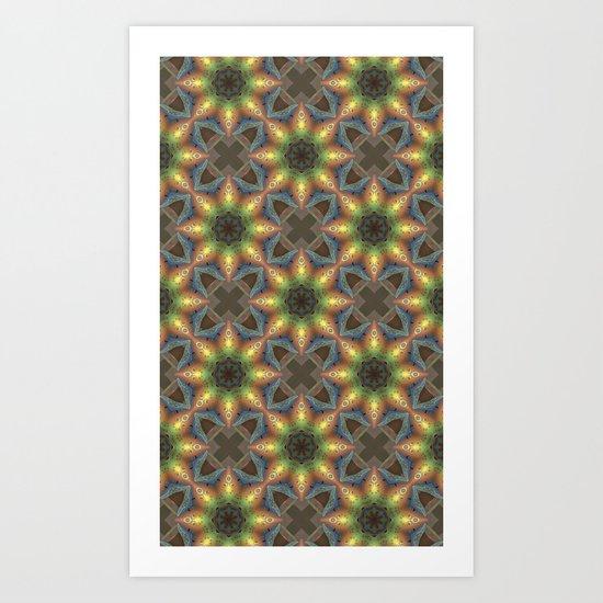 Pattern 040413-1 Art Print