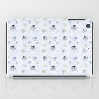 seashell iPad Cases featuring Shell Pattern by Christina Rollo