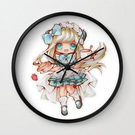Kawaii Waitress Wall Clock