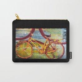 Orange Bike Carry-All Pouch