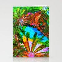 aloha Stationery Cards featuring Aloha by Glanoramay