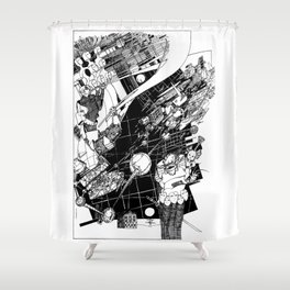 Graphics 015 Shower Curtain