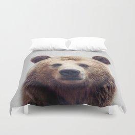 Bear - Colorful Duvet Cover