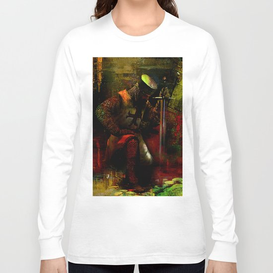 The prayer of the Knight Templar Long Sleeve T-shirt