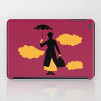 mary poppins iPad Cases featuring Mary Poppins by FilmsQuiz