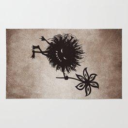 Evil Bug Gives Flower Rug