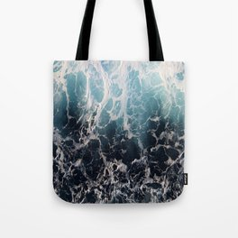 Blue Wave Surf Tote Bag