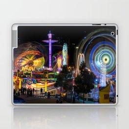 Fairground Attraction panorama Laptop & iPad Skin
