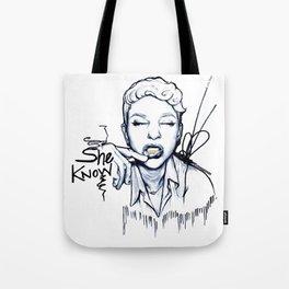 #STUKGIRL Danielle Tote Bag
