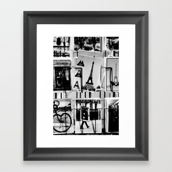 from Paris with love Framed Art Print