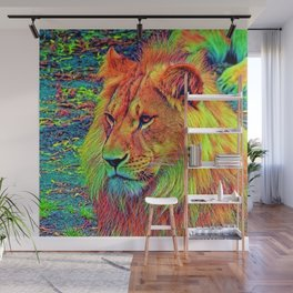 AnimalColor_Lion_004_by_JAMColors Wall Mural