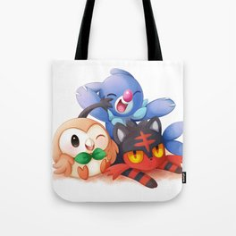 Sun and Moon Starters Tote Bag